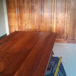 Custom Hard Wood Built-in Cabinets, Closet, Boardroom Table
