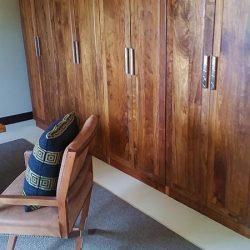 Custom Hard Wood Built-in Cabinets, Closet
