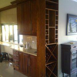 Custom Hard Wood Built-in Cabinets, Kitchen Cabinet