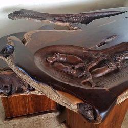 Custom Hard Wood Furniture, Office Desk