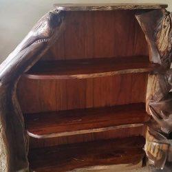 Custom Hard Wood Furniture, Book Rack