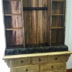 Custom Hard Wood Special Items, Gun Rack