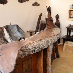 Custom Hard Wood Special Items, Reception Desk
